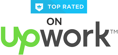 Top Rated on Upwork with 100% success!